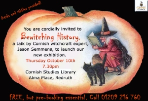 'Bewitching History' invite