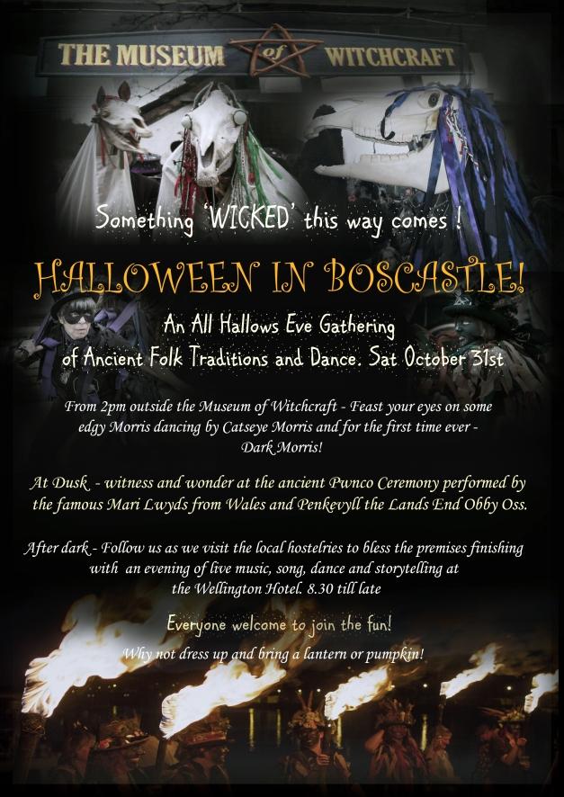Halloween in Boscastle