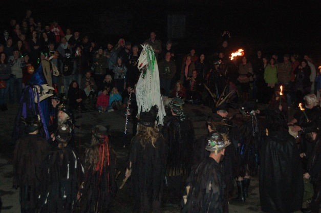 Samhain celebration - Photo credit: Museum of Witchcraft