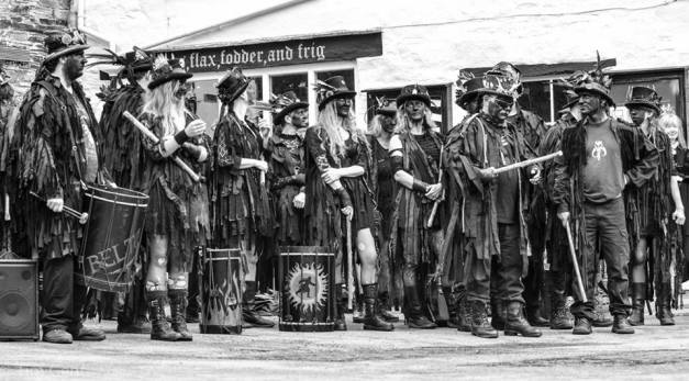 Beltane Border Morris - Photo credit: Tim Gent